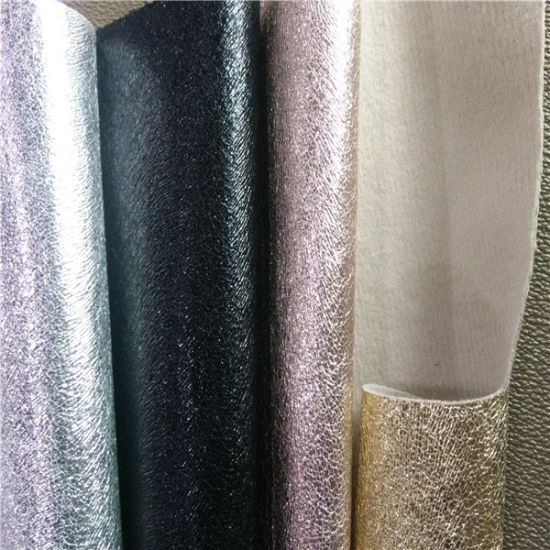 PU Synthetic Fabric Leather for Shoes and Handbags pictures & photos