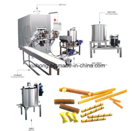 2017new Full Automatic Egg Roll Making Machine pictures & photos