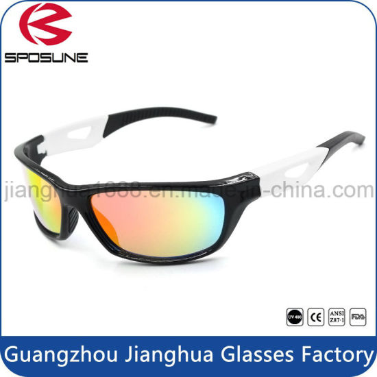 China Top Mens Sport Wrap Sun Glasses New Designed Brand Your Own
