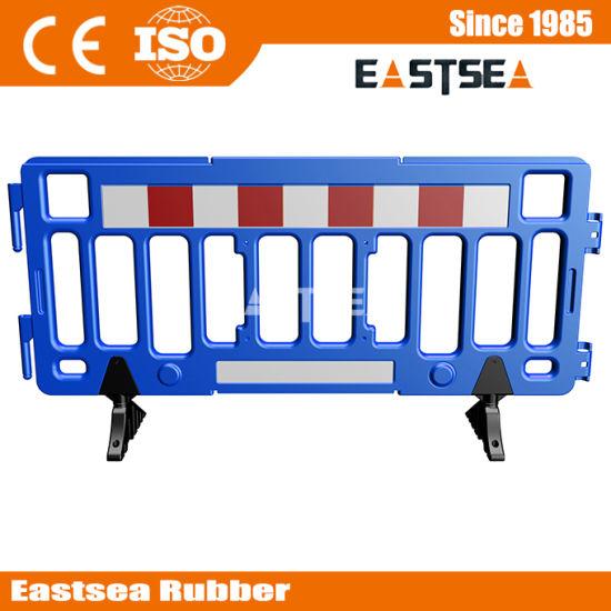 2m Plastic Portable Crowd Control Barricade Barrier