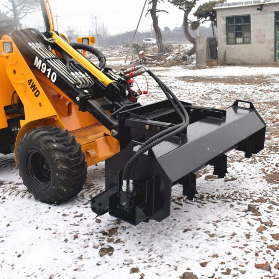China Ini Skid Steer Attachment Lawn Mower Cutter Hydraulic Powered