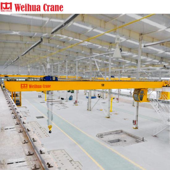 Top1 Overhead Crane Manufacturer Weihua 20 Ton 10 Ton 5 Ton Harga Overhead  Crane Price