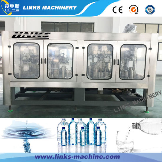 Complete Automatic 7000bph Water Bottling Packaging Plant/Machine/Line pictures & photos