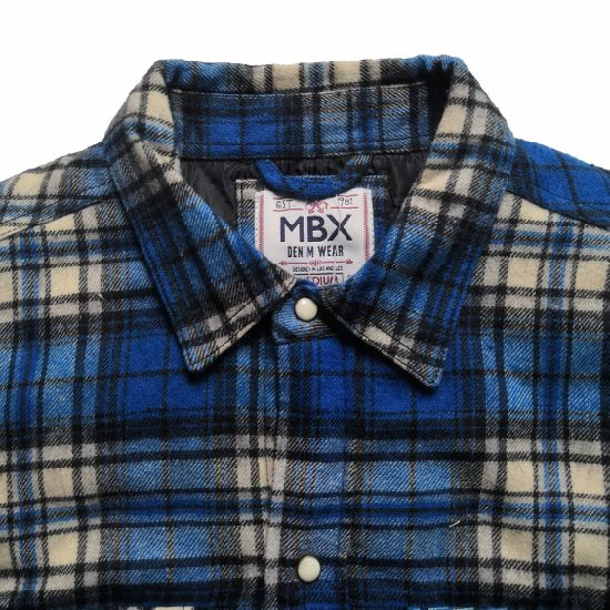 MBX Mens Multi Colored Plaid