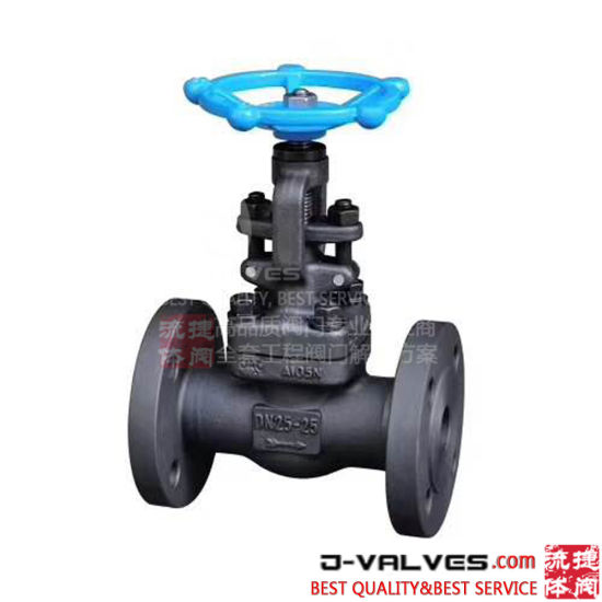 Forged Steel A105 High Temperature Seal Pressure Flanged Globe Valve