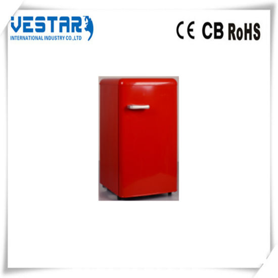 Mini Fridge Single Door Refrigerator with Ce Certification pictures & photos