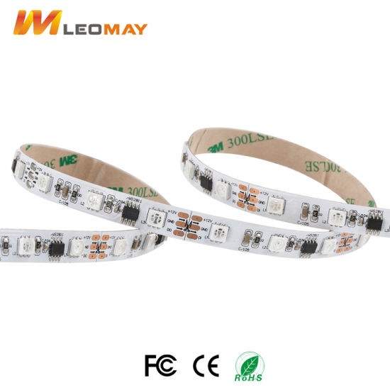 Dream Color SMD5050 Magic LED strip WS2811 1903 RGB/RGBW 300LEDs/5m pictures & photos