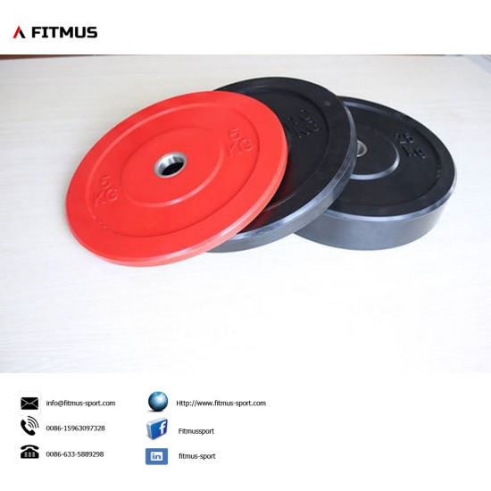 Olympic Bumper Plates for Strength Training, Olympic Weight Lifting, Powerlifting pictures & photos