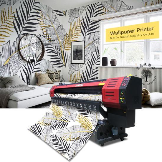 Best Price 3.2 Meters Large Format Digital Flex Printing Machine Wallpaper Printer