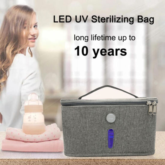 2020 UVC Fashion Bag Small UV Sterilize Bags Fast Desinfection Bags USB Charged Portable Sterilzer Box Bag pictures & photos