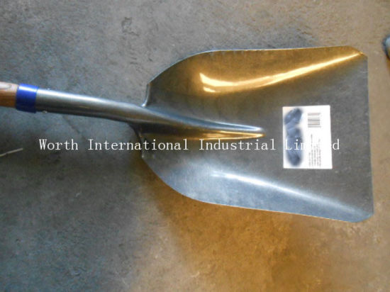 Coal Scoop Shovel with Short Wood Handle pictures & photos