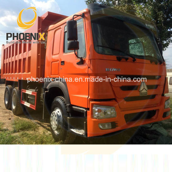 Promotion Low Price LHD 10 Tires 371HP Sinotruk HOWO Used Dump Truck with Good Condition for Africa Marketing