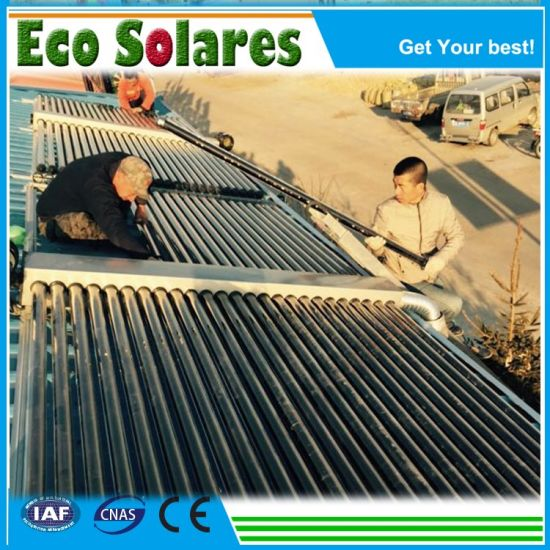 China Manufacturer Ce Rhos Good Quality Low Cost Cheapest Solar Water Heaters with Solar Spare Parts Tank Valvue Pump Vacuum Tubes Bracket Solar System