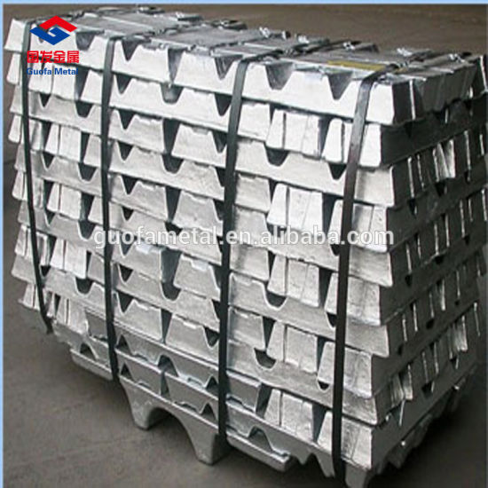 Antimony Lead Ingot Used for Cable Sheathing pictures & photos
