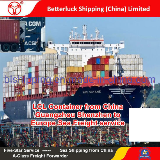LCL Container from China/Guangzhou/Shenzhen to Marseilles/France/Europe Sea Freight service pictures & photos