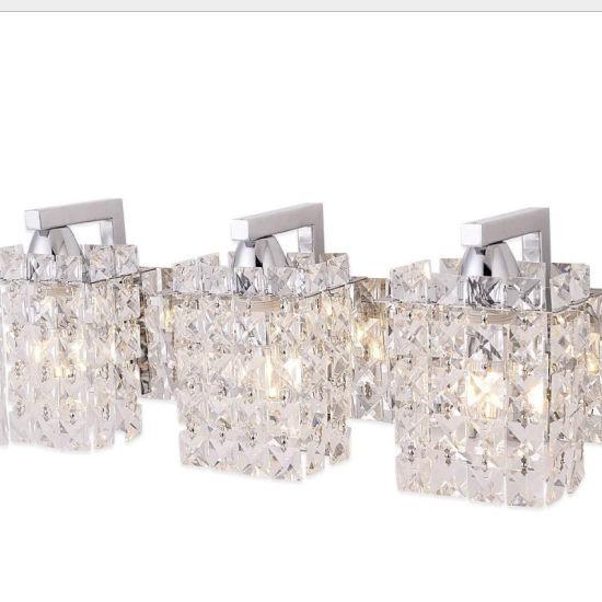 Modern Minimalist 3/5 Heads Crystal Wall Lights for Decorative Lighting