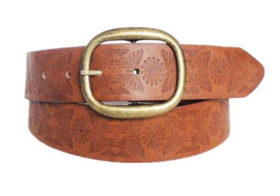 Embossing Fashion Ladies PU Belt (KY3256)