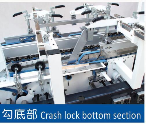 Folding Gluing Machine for Box Making (
