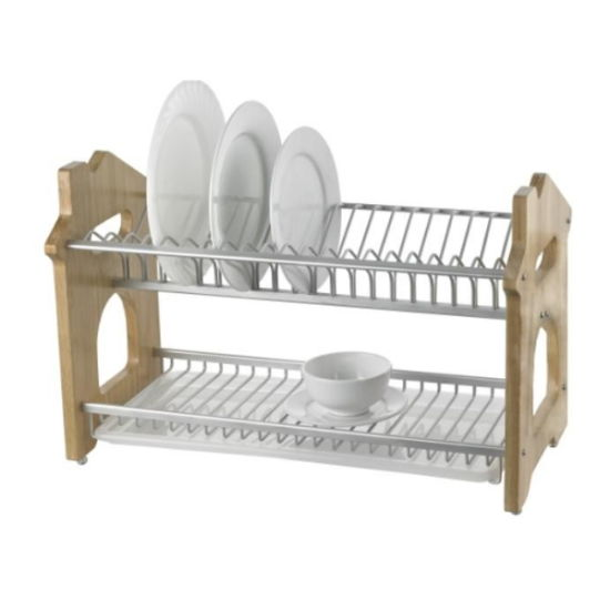 Wooden Dish Drying Rack pictures & photos