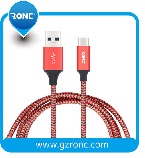 New Design Super Speed Two Sides USB 2.0 Data Line USB Cable Type C for Phone Charging