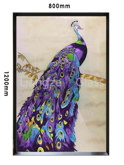 Chinese Handmade Cloisonne Painting for Decoration