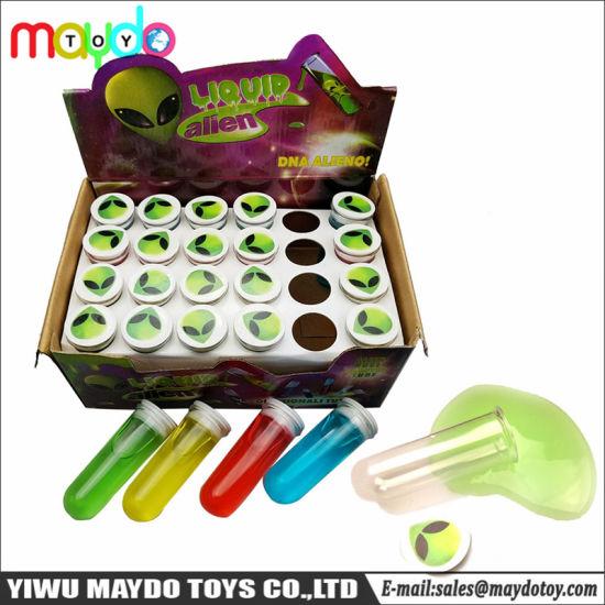 Novelty Alien Test Tube Slime Putty Toy