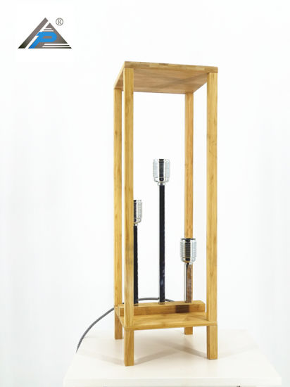 Square Standing Table Lamp with Bamboo Frame (C5007398) pictures & photos
