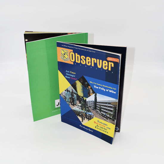 Custom Designed High Quality Brochure Catalog Softcover Book pictures & photos