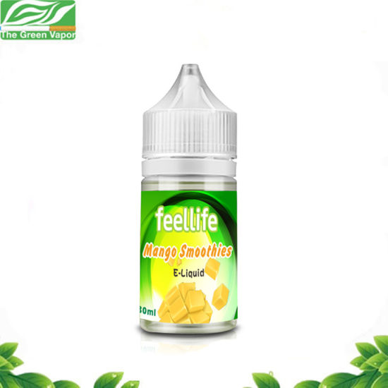 Wholesale 30ml High Strength Mango Smoothies Feellife E-Liquid with Child-Proof Cap pictures & photos