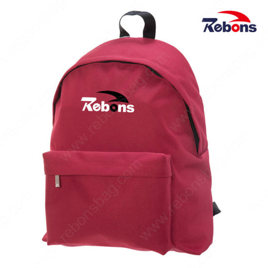 Cheap Vinyl Fabric Custom Classic Plain Gift Backpacks Online
