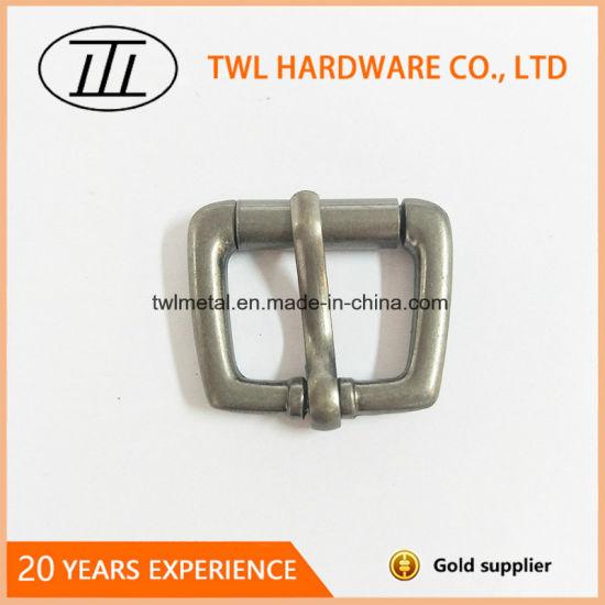 Zinc Alloy Pin Belt Buckle Small Roller Bukle Twl1032