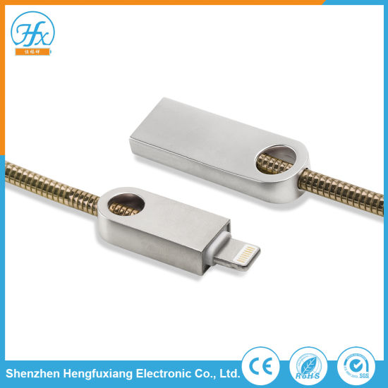 5V/1.5A Data Connection Charger USB Lightning Cable Mobile Phone Accessory pictures & photos