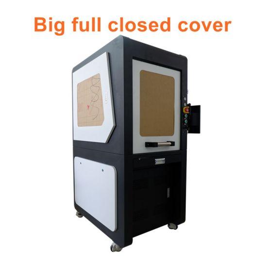 Big Closed Cover Laser Marking Machine