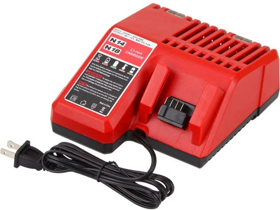 M12 M18 48-59-1812 12V-18V Li-ion Power Tool Charger for Milwaukee Power Tool Batteries pictures & photos