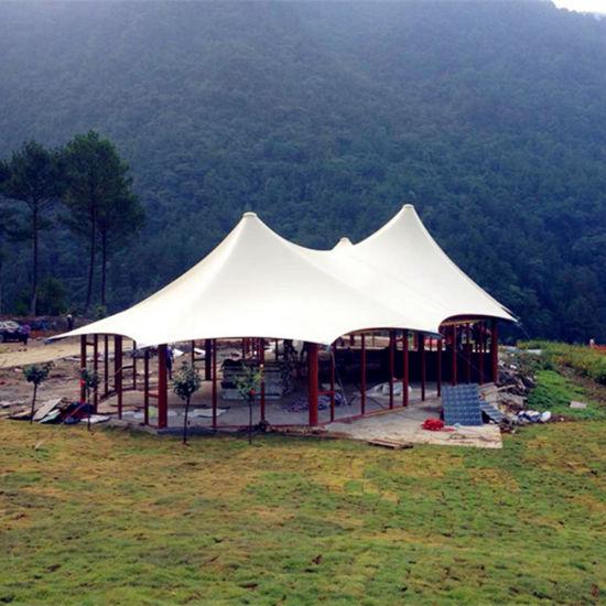 Eco-Friendly Multi-Top Luxury Gl&ing House Tent for Eco Resort & China Eco-Friendly Multi-Top Luxury Glamping House Tent for Eco ...
