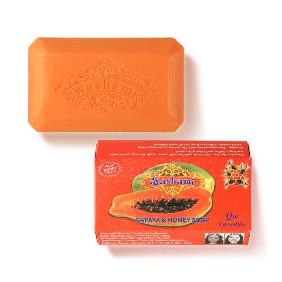 Washami Herbal Orangic Thailand Cleanse Whitening Soap