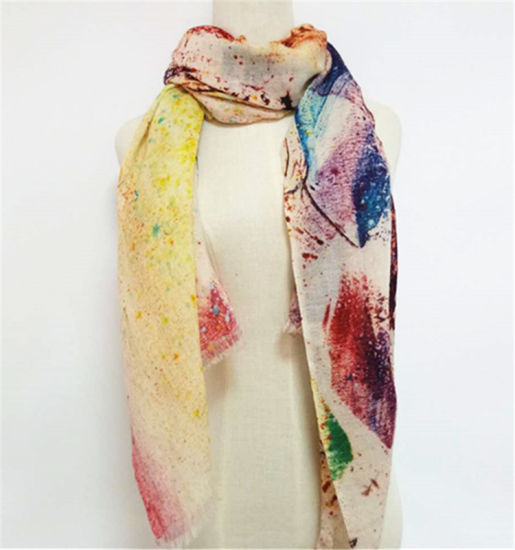 China Scarf Manufacturer Custom Printing Services Printed