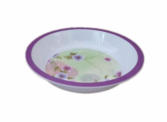 Eco Friendly Melamine Dishes Sets Restaurant Round Plate pictures & photos