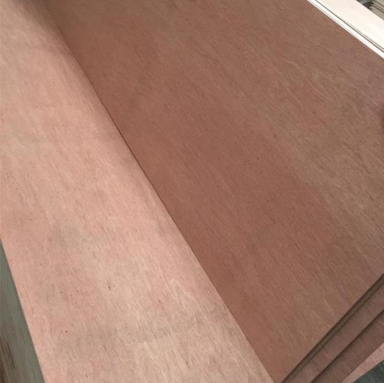 1220X2440X2-18mm Bintangor/Okume Plywood/Melamine MDF for Furniture