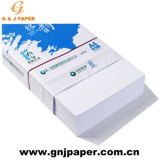 Wholesale 80G/M2 210X297mm Jk A4 Copy Paper in 500 Sheets