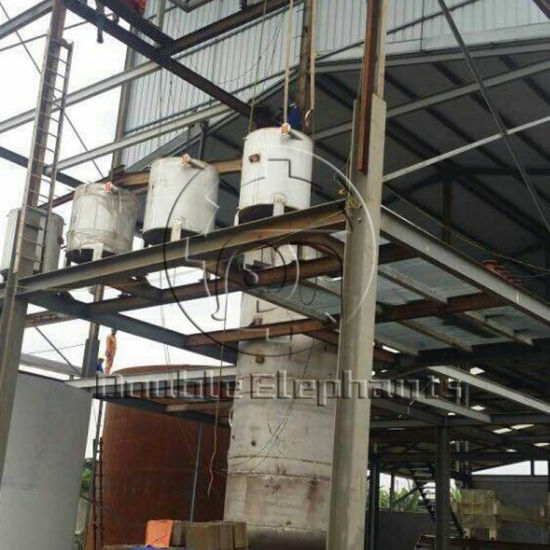 Batch Edible Castor Crude Cooking Olive Oil Refinery Machine pictures & photos