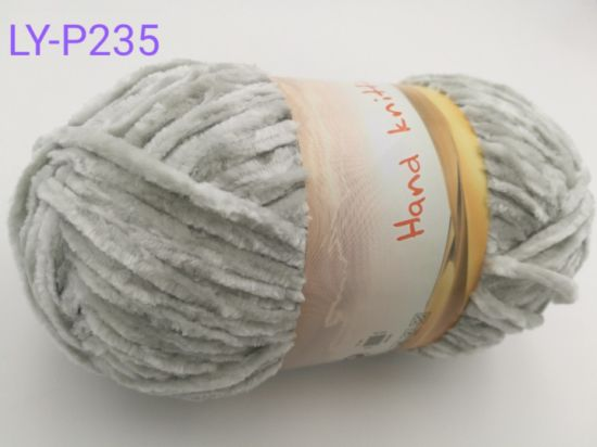 Fashion Sweater Yarn Polyester Chenille Yarn pictures & photos