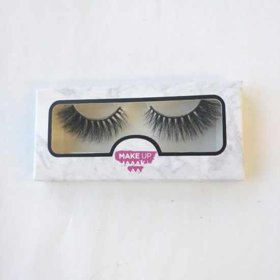 9b7bfe2ecc9 Wholesale with Paper Box Private Label 3D 100% Natural Mink Eye Lashes