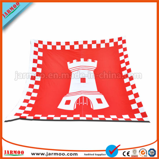 Cheap Custom Polyester Outdoor Promotion Advertising Printing Teardrop Feather Flying Beach Flag pictures & photos