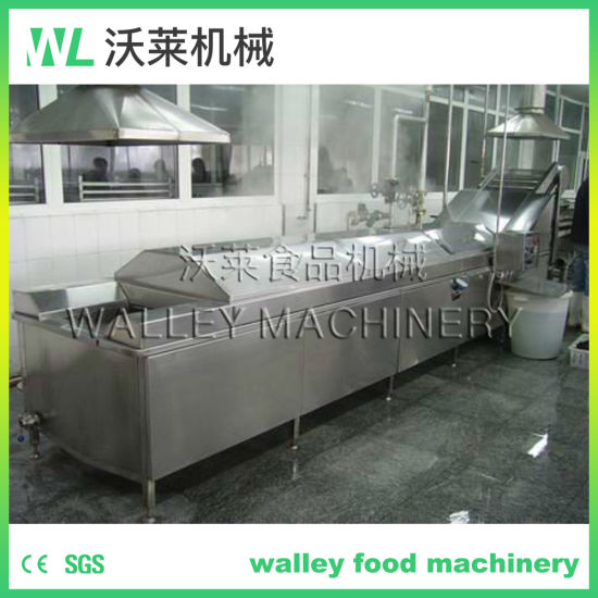 Stainless Steel Blanching Equipment/Water Heating Blancher Cooker