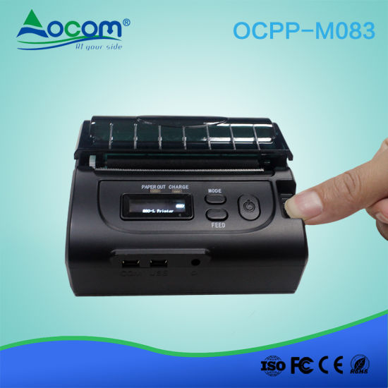 Custom 80mm Bluetooth Thermal Printer with RS232 Interface for Android