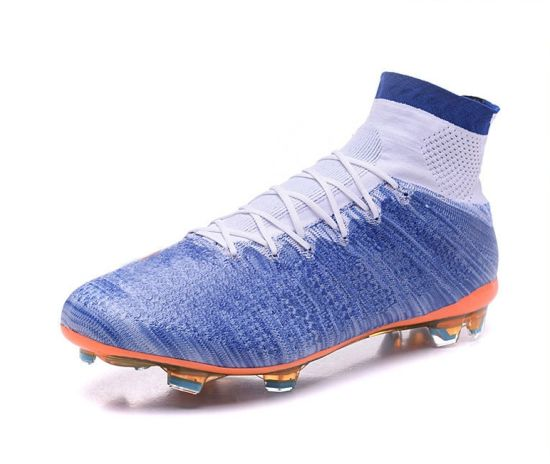 5f6b93f26478 China Custom High Ankle Football Boots