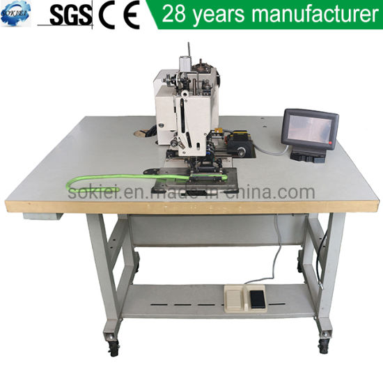 Computerized Automatic Rappelling Rope Harness Sling Industrial Pattern Sewing Machine