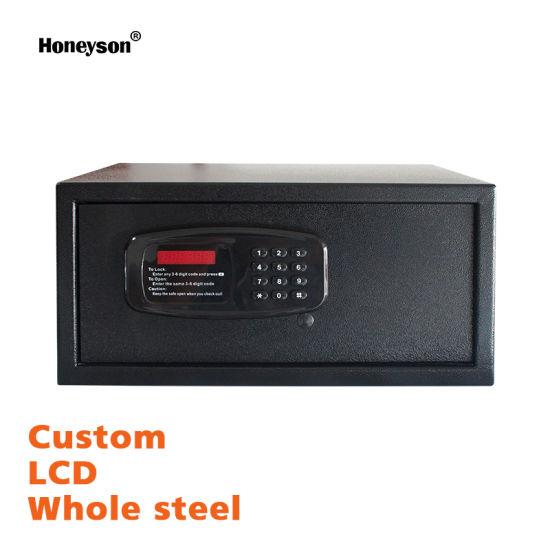 Hotel Room Smart Digital Password Safe Box with Reset Code