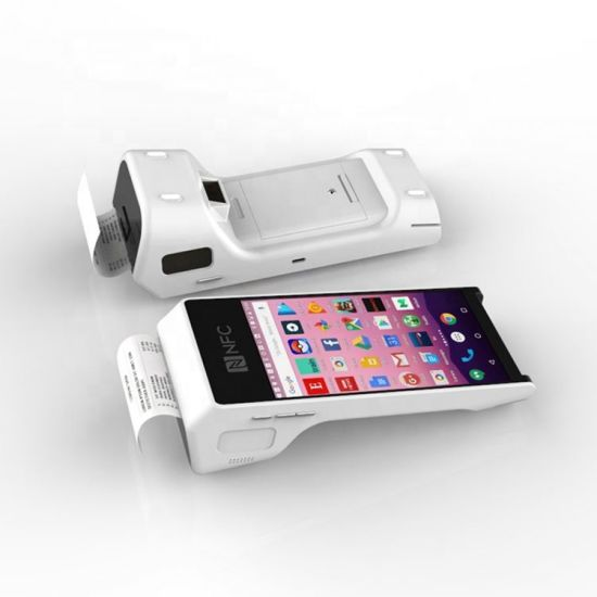 China PT50 Mobile NFC Payment POS Scanner Machine Card Reader